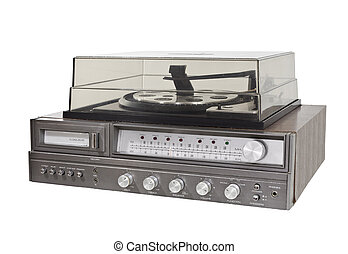Vintage 1970s 8 Track Stereo Record Player - Vintage 1970s 8...