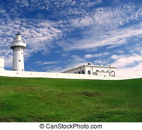 Vintage 19th Century Lighthouse - -- located at the southern...