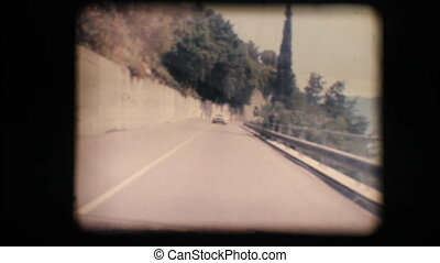 Vintage 8mm. Camera car - Vintage 8mm. Original footage...