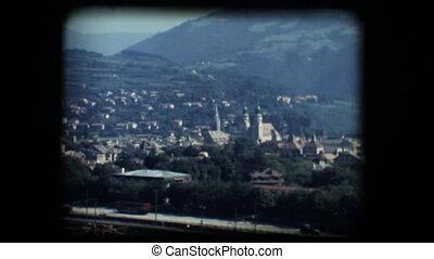 Vintage 8mm. View of Brixen