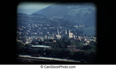 Vintage 8mm. View of Brixen