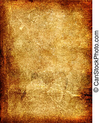 Vintage aged old paper. Original background or texture.
