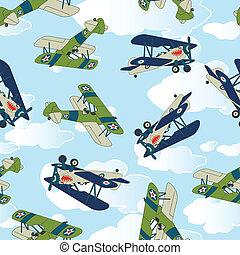 Vintage allied plane flying. - Vintage allied plane flying...