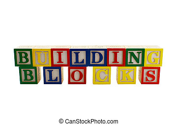 Vintage alphabet blocks spelling Building Blocks - Vintage...