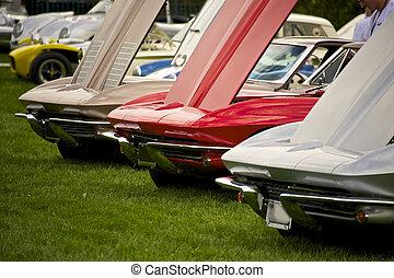 Vintage American Sports Car 3