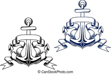 Vintage anchors
