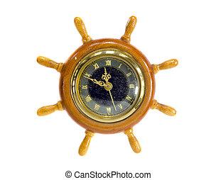 vintage and grunge clock