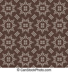 Vintage Arabesque Inspired Seamless Pattern - Original Design