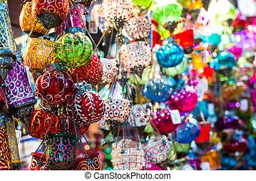 hanging lanterns - vintage arabic hanging lanterns of ...