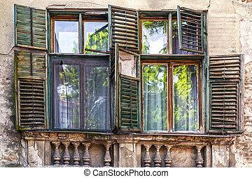 Vintage architectural detail