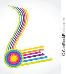 Vintage arrows. Vector set for your design.
