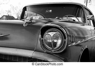 Vintage Auto 2 - Vintage Auto in Black and White