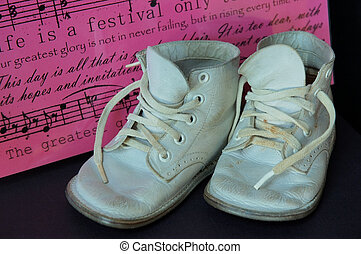 Vintage Baby Shoes - Life is a festival. Vintage baby shoes ...