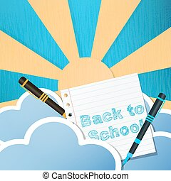 Vintage Back to School Design