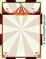 vintage background circus sunbeams