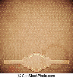 vintage background - crumpled paper
