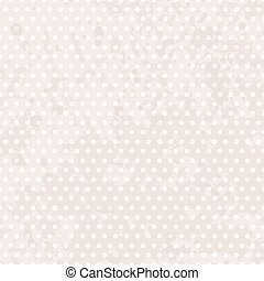 Vintage background dots. Pastel seamless pattern