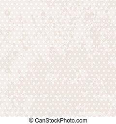 Vintage background dots. Pastel seamless pattern