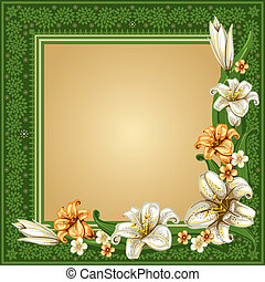Vintage background - Luxurious background in vintage style