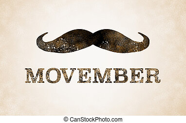 Background for Movember