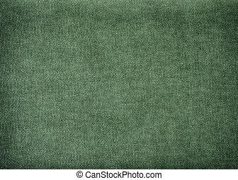 Vintage background made of olive cotton