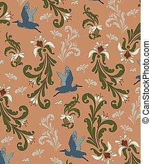 Vintage background, pattern