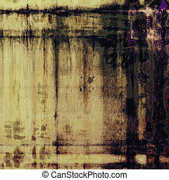 Vintage background texture, antique style composition for your design. With different color patterns: yellow (beige); brown; gray; purple (violet); black