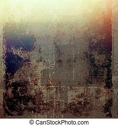 Vintage background texture, antique style composition for your design. With different color patterns: yellow (beige); brown; black; blue; red (orange)