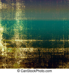 Vintage background texture, antique style composition for your design. With different color patterns: yellow (beige); brown; green; gray; blue