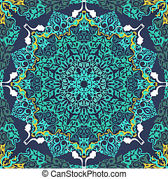 Vintage Background Traditional Ottoman Motifs. - Vintage...