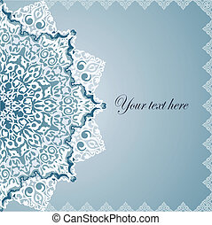 Vintage Background Traditional Ottoman motifs. Vector...