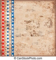Vintage Background US Flag Stripes