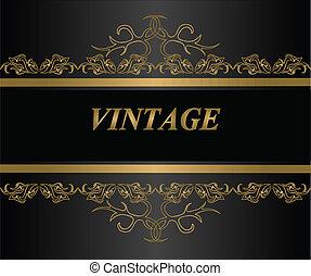 Vintage background. Vector ESP10.