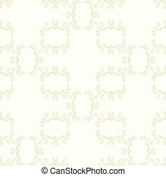 Vintage background vector with rowan berry tree branch pattern elements abstract