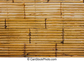 vintage background wall texture, from old bamboo wood