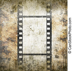 Vintage background with film frame