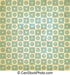 Vintage background with geometric pattern