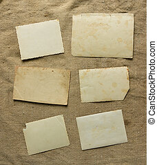 Vintage background with paper