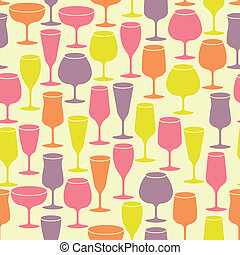 Vintage background with wine