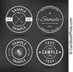 Vintage Badges Elements