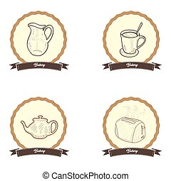 Vintage bakery products