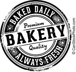 Vintage Bakery Stamp/Sign