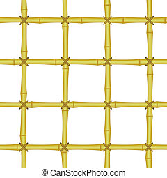 bamboo grating, lattice seamless background