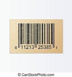 Vintage Bar Code Illustration