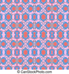 Vintage Baroque Seamless Pattern