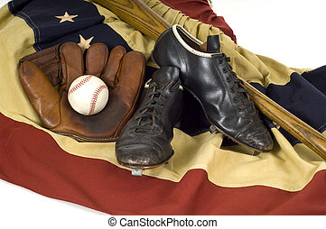 Vintage Baseball Gear