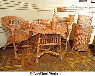 Vintage beautifull wicker furniture
