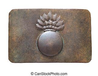 vintage belt buckle.