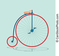 Vintage bicycle background 2