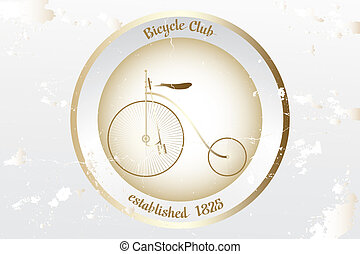 Vintage bicycle design